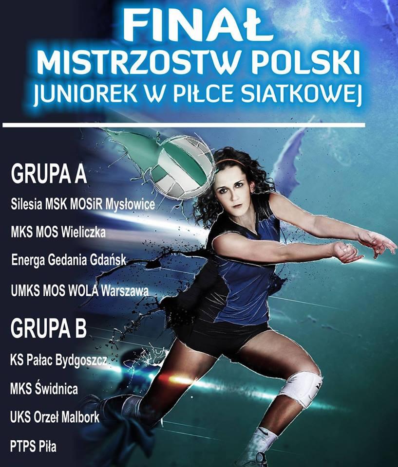 Zaproszenie na transmisję live z Mistrzostw Polski juniorek!